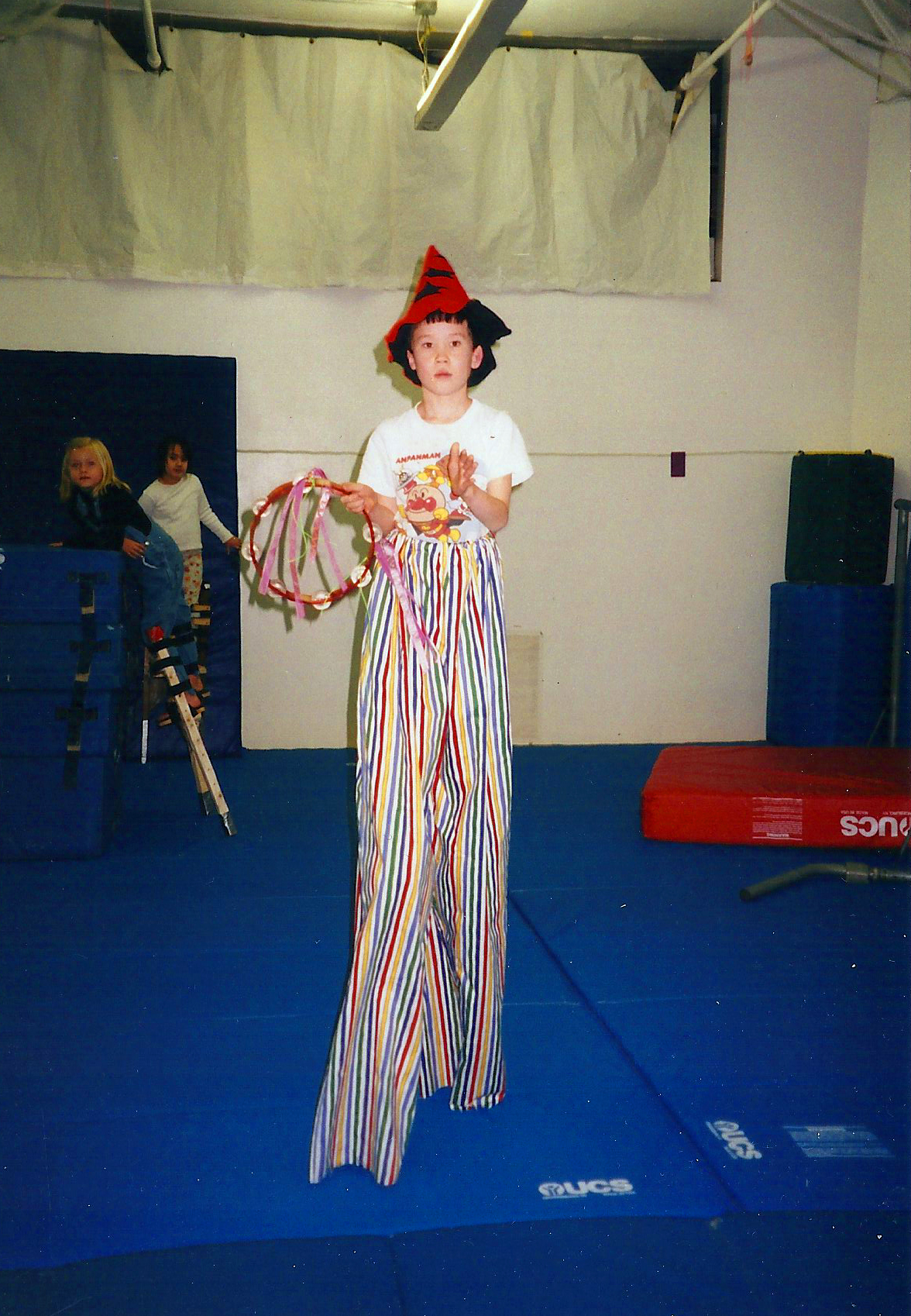 Stilt Walking at Children's Tumbling