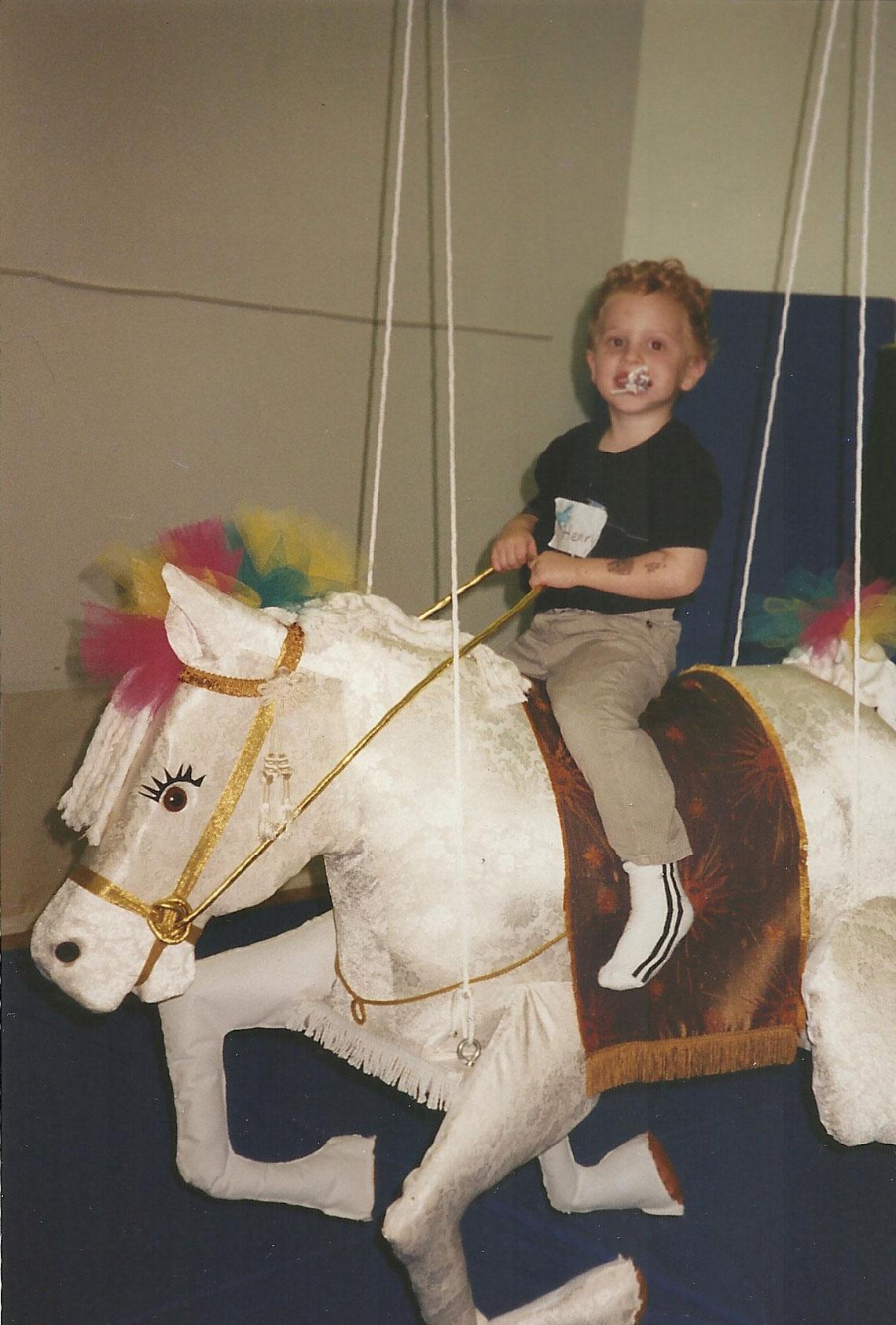Magical Birthay Horse